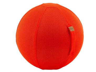 Sitzball Mesh Orange Schwarz, Petrol