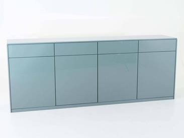 Sideboard Venga Grün Weiss - 243x94x49 cm