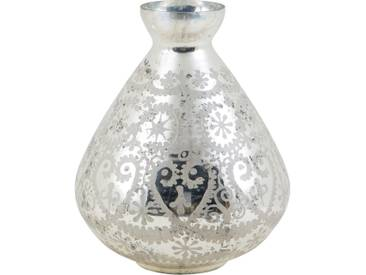 Vase Goccia Glas Verchromt