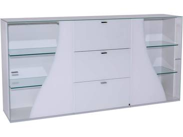 Sideboard Curve Weiss - 195x101x42 cm