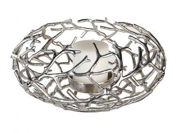 Kerzenleuchter Nest Aluminium h: 20 cm