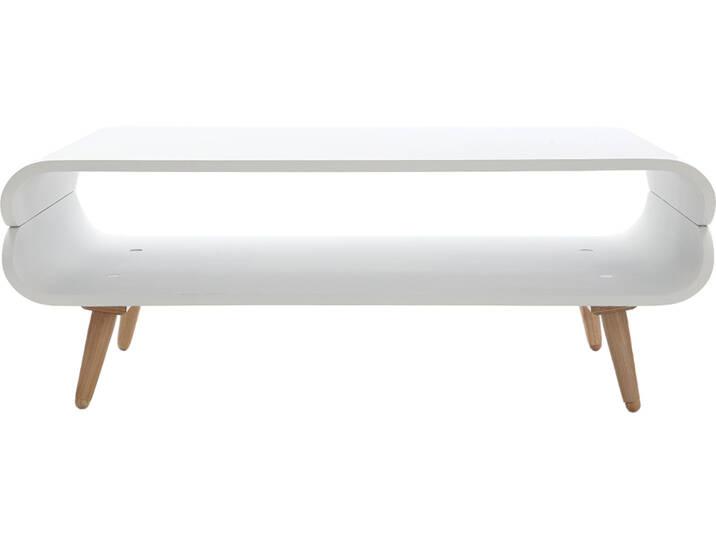 Design-Couchtisch Esche Weiß TAKLA