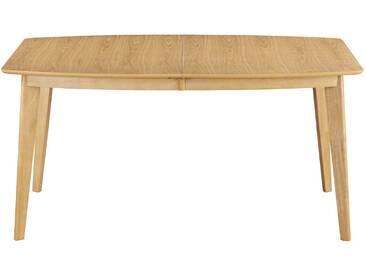 Esstisch ausziehbar skandinavisch aus hellem Holz 150-200 cm LEEN