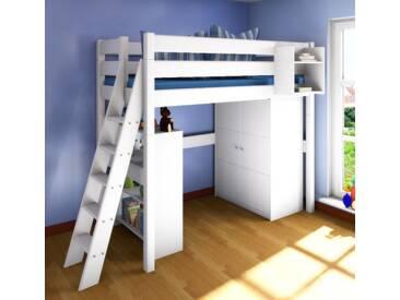 Etagenbett Erwachsene 100x200 : Hochbett design