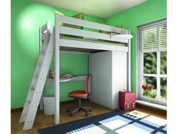 Etagenbett Holz Weiß : Kleines kinderzimmer mit hoch oder etagenbett einrichten freshouse