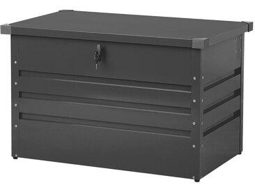 Auflagenbox Stahl graphitgrau 100 x 62 cm CEBROSA