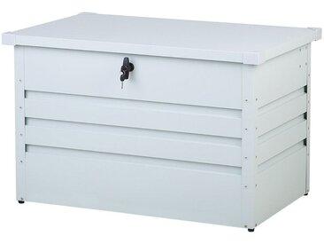 Auflagenbox Stahl cremeweiß 100 x 62 cm CEBROSA