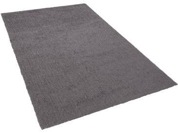 Teppich dunkelgrau 160 x 230 cm Shaggy DEMRE