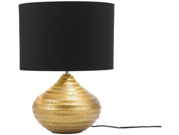 Tischlampe gold KUBAN