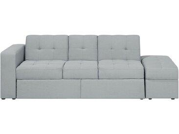 Sofa mit Schlaffunktion hellgrau FALSTER