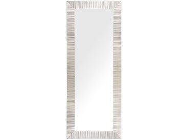 Wandspiegel silber rechteckig 50 x 130 cm DRAVEIL