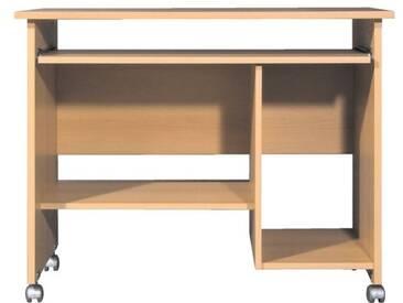 Schreibtisch 90 cm Braun, Germania-Werke, 75x48 cm