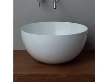 Rundes Aufsatzwaschbecken aus Keramik modernes Design Star Round 40cm