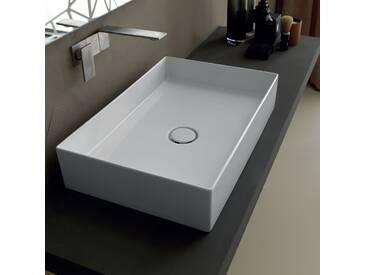 Aufsatzwaschbecken aus Keramik modernes Design Sun 60x37 made in Italy