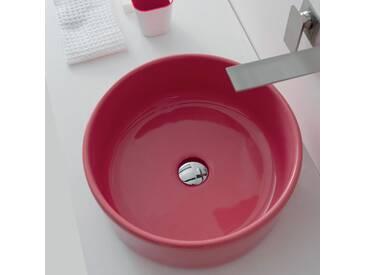 Waschbecken rund aus farbiger Keramik Joker von Alice Ceramica