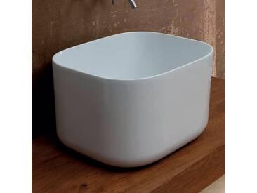 Aufsatzwaschbecken, Keramik, modernes Design Star Rectangular 50x40cm