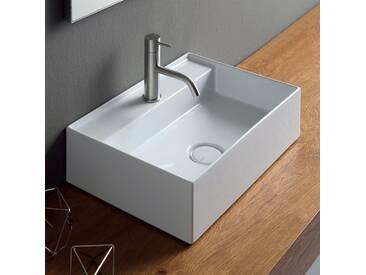 Aufsatzwaschbecken made in Italy Sun 50x35cm modernes Design