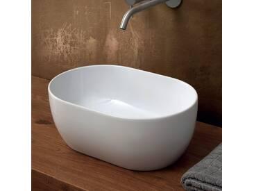 Aufsatzwaschbecken aus Keramik 45x35 made Italy Star, modernes Design