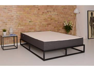 Metallbett 160x200 in schwarz inkl. Lattenrost | Factory von BRUNO - Hochwertige Materialien, beste Verarbeitung und ein zeitloses, klares Design