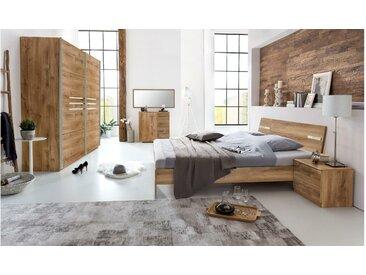 JUSTyou Louise Schlafzimmerset Schlafzimmerkombination Schlafzimmer Komplett Plankeneiche