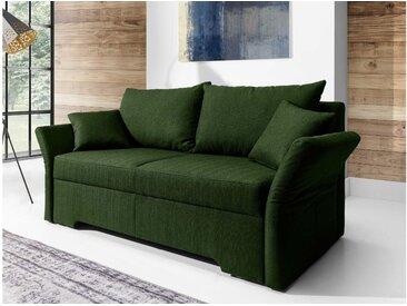 JUSTyou Melfi Einzelsofa Sofa Couch Strukturstoff Grün I