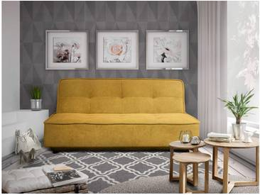JUSTyou Raleigh Einzelsofa Sofa Couch Gelb