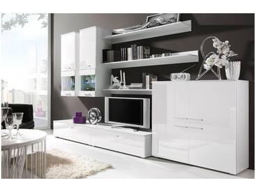 JUSTyou CAMI II Wohnwand Weiß