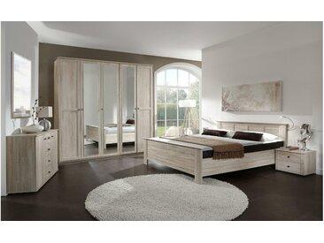 JUSTyou Teresa Schlafzimmerset Schlafzimmerkombination Schlafzimmer Komplett Sonoma Eiche