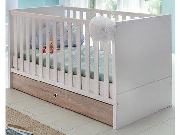 JUSTyou Estelle Baby-Gitterbett Weiß