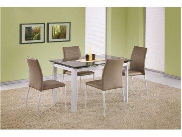 JUSTyou Alston Esszimmertisch Küchentisch Esstisch Beige 120÷180x80x75 cm