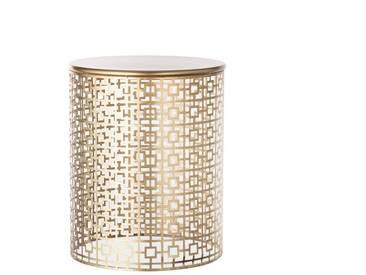 Beistelltisch Fabia gold 52cm