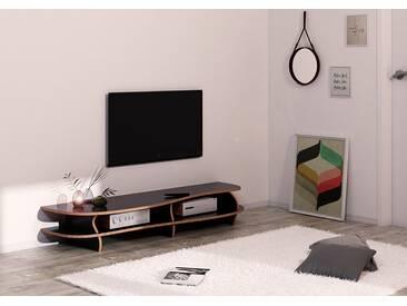 TV-Möbel TV-Lowboard Black Carpet - konfigurierbar
