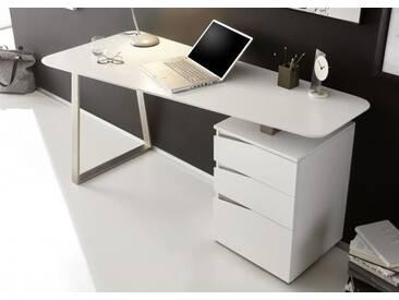 Toni Schreibtisch Weiss matt