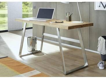 Anan Schreibtisch Asteiche massiv