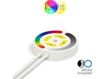 s.LUCE iLight Touch Schalter mit Controller Alexa Kompatibel für Strip RGB