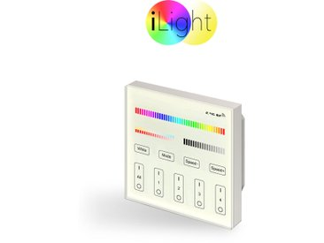 s.LUCE iLight Einbau-Touch Panel für Leuchtmittel & Strip RGB + CCT