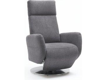 Fernsehsessel Kobra in grau, Sitzhöhe 47 cm
