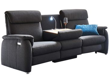 Trapez-Sofa TS 215 in anthrazit