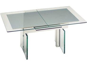 Kombilift-Auszugtisch 2181 aus Klarglas