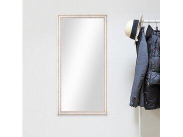 Wand-Spiegel 60x110 cm im Landhaus-Stil Weiss / Spiegelfläche