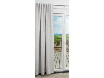 Vorhang von LYSEL® - Holly Natur in den Maßen Breite: 142cm Höhe: 245cm in Grau/silbergrau