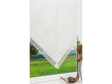 Scheibengardine von LYSEL® - Lina (Bx H) 60cm * 120cm weiß