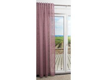 Dekoschal von LYSEL® - Brandi Uni in den Maßen Breite: 135cm Höhe: 245cm in Rosa/pastellviolett