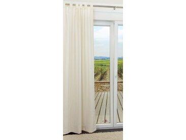 Schlaufenschal von LYSEL® - Vertical Abstrakt in den Maßen Breite: 140cm Höhe: 245cm in Weiß/cremeweiß