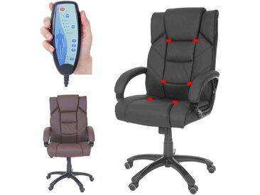Massage-Bürostuhl Stafford, Massagestuhl Drehstuhl Chefsessel