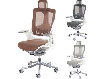 Bürostuhl MERRYFAIR Wau 2, Schreibtischstuhl Drehstuhl, Polster/Netz, ergonomisch