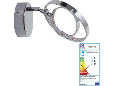 Reality Trio LED Wandleuchte RL145, Spot Strahler Wandlampe, inkl. LEDs EEK A+ 1-flammig, 4W