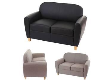 2er Sofa Malmö T377, Loungesofa Couch, Retro 50er Jahre Design