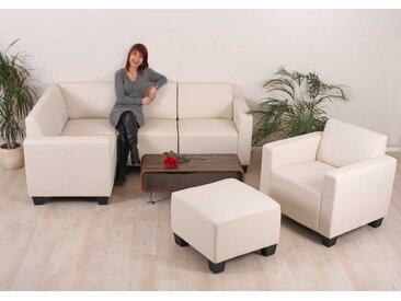 Modular Sofa-System Couch-Garnitur Lyon 4-1-1, Kunstleder