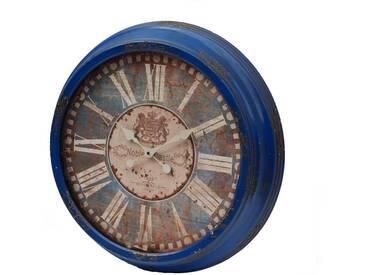 Wanduhr H03, Uhr, Shabby-Look Vintage, Ø64cm